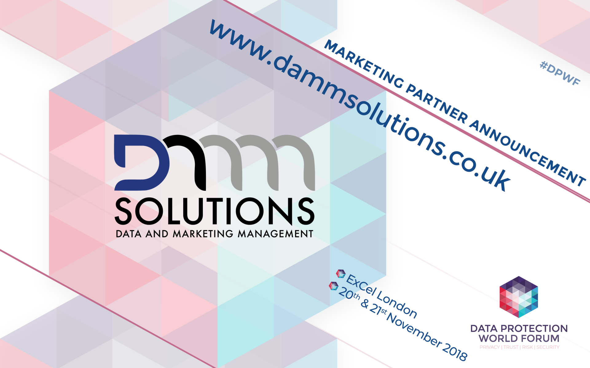 All The Latest Data Protection News And Insights Security Privacy Damm Solutions Announced As Official Marketing Partner