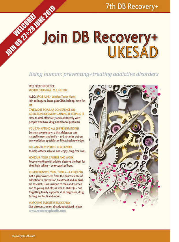 Enjoy our programme at https://www.recoveryplusjournal.com/conference/