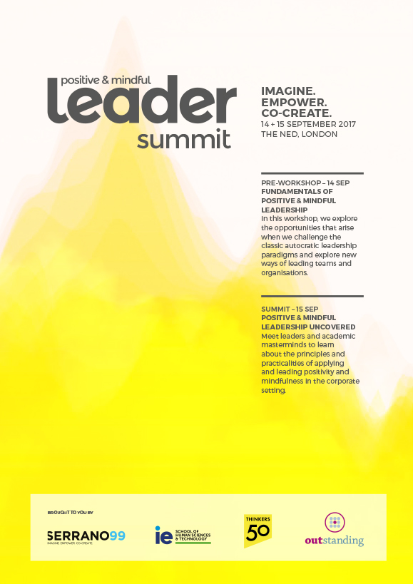 positive & mindful leader summit programme 2017