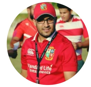 14.30 - 14.45 How can Rugby and Sport change people lives, and how our green zone will work on create safe space for youth. SDG Action Talk by Abdalhaq Faiz