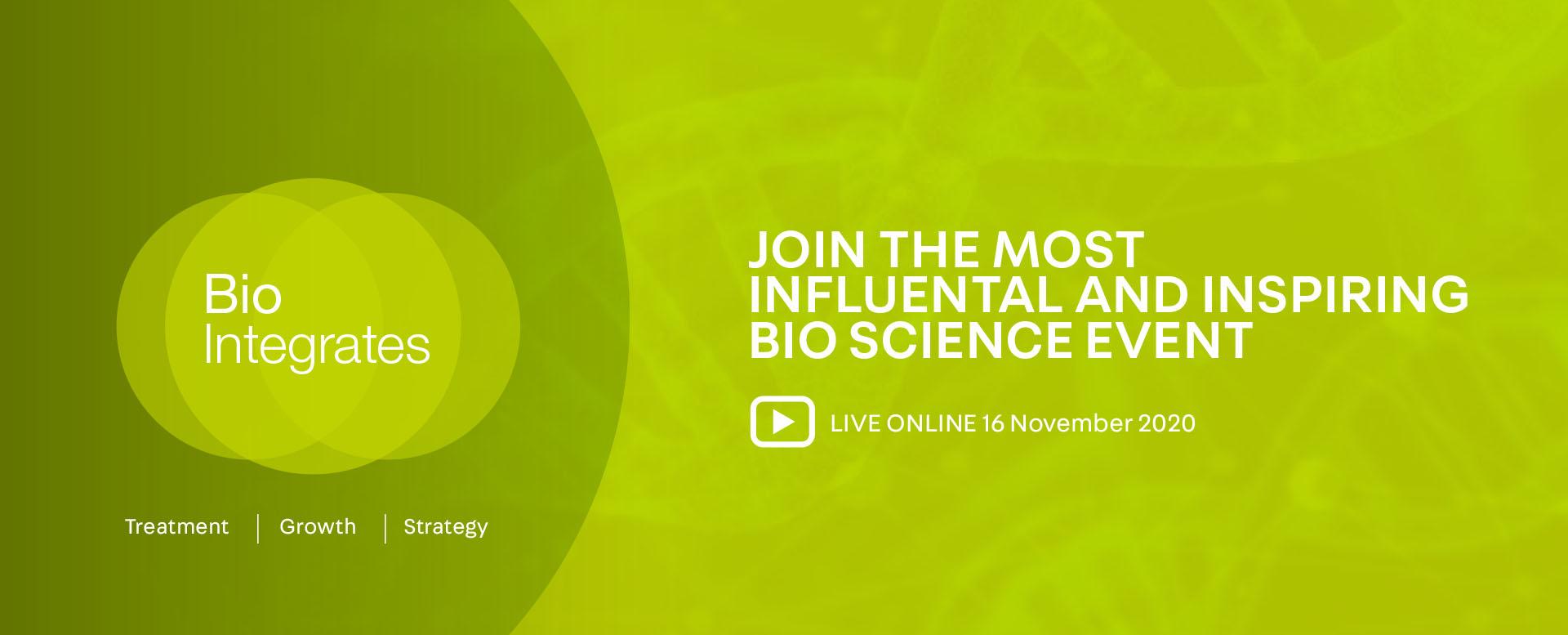 Bio Integrates 2020, 16th November 2020, Leonardo Royal Hotel London Tower Bridge