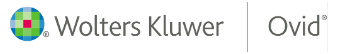 Wolters Kluwer Ovid